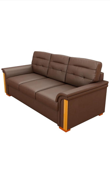 Kurlon  3 Seater Sofa in Jute Fabric