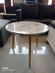 round marble coffee table Small Size