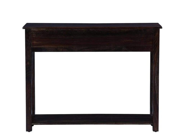 Abbey Solid Wood Console Table in Warm Chestnut Finish by Woodsworth GMC Express Study Table FN-GMC-008377