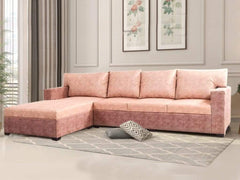 Akira Sectional Sofa With RHS Lounger Sofa In Premium Fabric GMC Standard Sofa FN-GMC-005917