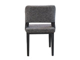 Alaska Upholstered Dining Chair In Grey Color GMC Express Chair FN-GMC-006839