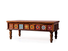 Alicant Coffee Table In Teak Finish GMC Express Table FN-GMC-008586
