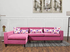 Ansley Sectional Sofa In Purple Color GMC Express Sofa FN-GMC-004173