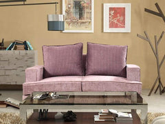 Bogota Two Seater Sofa In Premium Suede Fabric GMC Express Sofa FN-GMC-003810