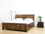 Bradbury King Size Bed with Box Storage GMC Standard Beds FN-GMC-000925