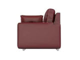 Muebles Casa Mind Cedar Leatherette 3 Seater Sofa