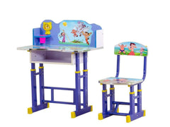 Chhota Bheem Kids Study Table Set GMC Standard Table FN-GMC-000673