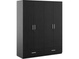 Classy Engineered Wood 4 Door Wardrobe GMC Express Storage FN-GMC-008872