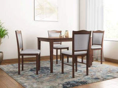 Cocos Solid Wood 4 Seater Dining Set GMC Express Table FN-GMC-007447