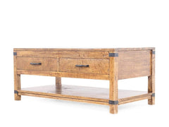 Dalton Two Drawer Polished Coffee Table GMC Express Table FN-GMC-000724