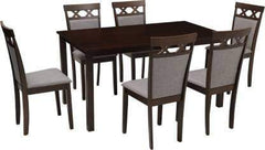 Diana Solid Wood 6 Seater Dining Set GMC Express Table FN-GMC-007012