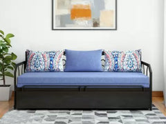 Lyanna Metallica 3 Seater Sofa