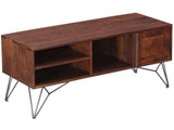 Ferme Solid Wood TV Console in Premium Acacia Finish by Woodsworth GMC Express Storage FN-GMC-008392