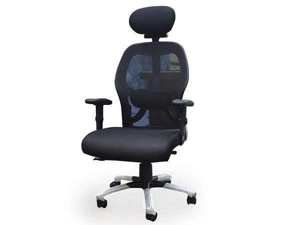 Flaire Executive Office Table + Matrix Office Chair (Combo Offer) GMC Express Chair FN-GMC-008598