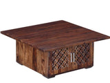 Florito Solid Wood Coffee Table in Provincial Teak Finish by Woodsworth GMC Express Table FN-GMC-008382
