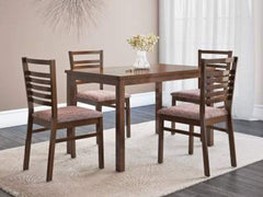 Gem Solid Wood 4 Seater Dining Set GMC Express Table FN-GMC-006936