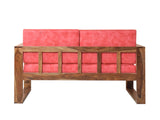 Thompson Two Seater Sofa In Teak Finish