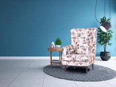 Titus Beauty High Back Wing Chair