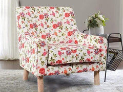Hagen Lounge Chair in Floral Fabric GMC Express Chair FN-GMC-005610