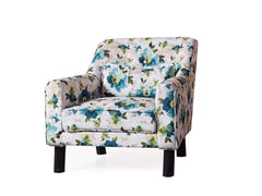 Hagen Lounge Chair in Floral Fabric GMC Express Chair FN-GMC-008840