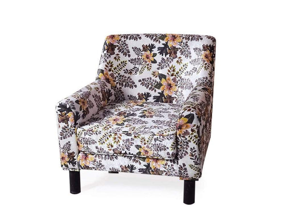 Hagen Lounge Chair in Floral Fabric GMC Express Chair FN-GMC-008841