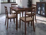 Hayman Engineered Wood 4 Seater Dining Set GMC Express Table FN-GMC-007572