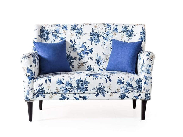 Henry Loveseat in Peacock Floral Print GMC Express Sofa FN-GMC-008836
