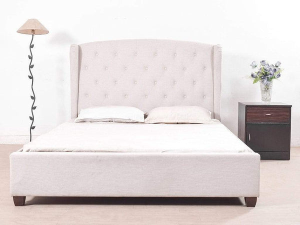 Holmebrook Upholstered King Size Bed By Urban Ladder GMC Express Beds FN-GMC-007077