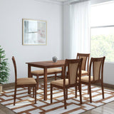@home by Nilkamal Jewel Solid Wood 6 Seater Dining Set GMC Express Table FN-GMC-006394