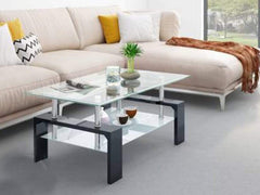 Homes Dorn Glass Coffee Table GMC Express Table FN-GMC-007709