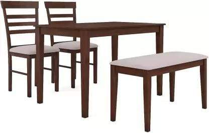 Homes Hayman Solid Wood 4 Seater Dining Set GMC Express Table FN-GMC-008437