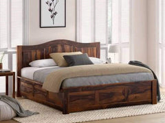 Homes PureWood Sheesham King Box Bed GMC Standard Beds FN-GMC-007688