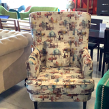 Delta Beauty High Back Wing Chair