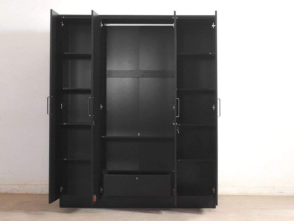 Jenga Four Door Wardrobe GMC Express Storage FN-GMC-006026