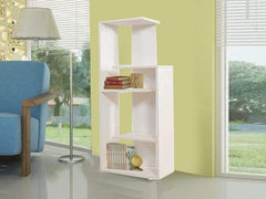 Jordan Book Shelf in White Color GMC Express Storage FN-GMC-005403