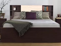 HomeTown Engineered Wood King Box Bed