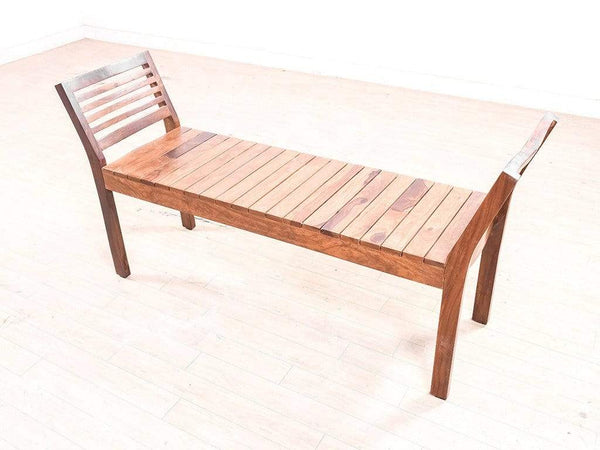 Latt Bench in Teak Finish by Urban Ladder GMC Express Chair FN-GMC-007536