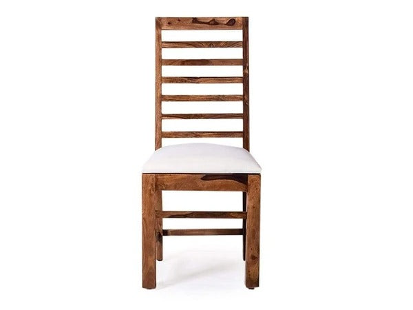 Liana Dining Chair With Table Set In Sheesham Wood