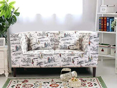 Liana Love-Seat In Premium Paris Chic Fabric GMC Express Sofa FN-GMC-005296