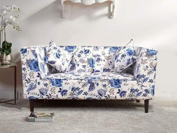 Liana Loveseat In Premium Floral KC Fabric GMC Express Sofa FN-GMC-005752