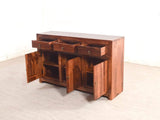 Liana Sheesham Wood Sideboard In Teak Finish GMC Express Storage FN-GMC-005333