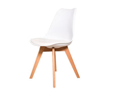 Luxury Plastic Chair In White Colour GMC STANDARD Chair FN-GMC-008076