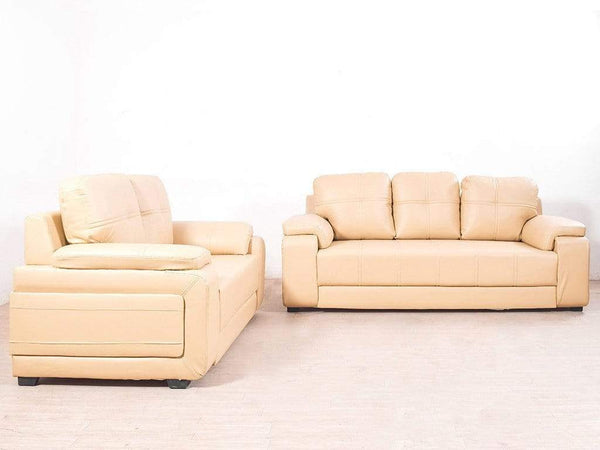 Marina Five Seater Sofa In Cream Color By Evok GMC Standard Sofa FN-GMC-001935