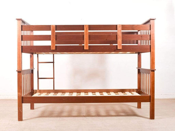 McRetro Bunk Bed In Walnut Finish By Mollycoddle GMC Express Beds FN-GMC-004620