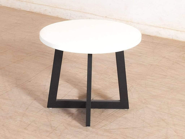Michell Small Round Coffee Table in White GMC Express Table FN-GMC-006239