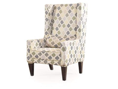 Morgen Wing Chair in Caledonia Print GMC Express Sofa FN-GMC-005993