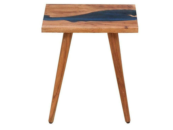 Nile Solid Wood End Table in Warm Walnut Finish by Bohemiana GMC Express Table FN-GMC-008386