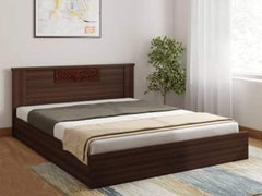 Nilkamal Hero Engineered Wood Queen Size Bed GMC Express Beds FN-GMC-007229