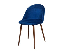 Noel Accent Chair In Blue Fabric GMC Express Chair FN-GMC-007949