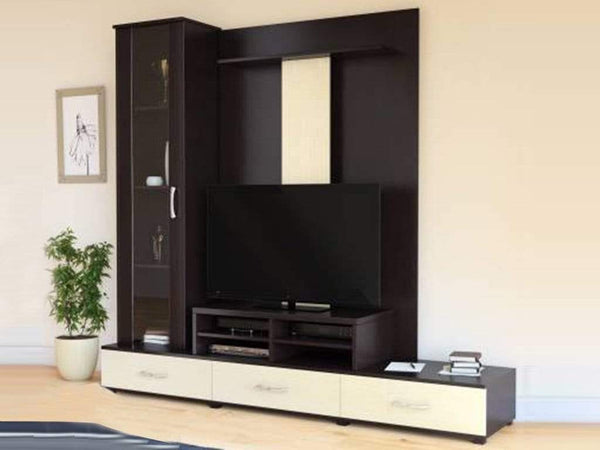Paradise Wall TV Unit WIth Display GMC Express Storage FN-GMC-006055